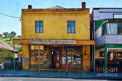 Photograph - Carcoar General Store by Stuart Row