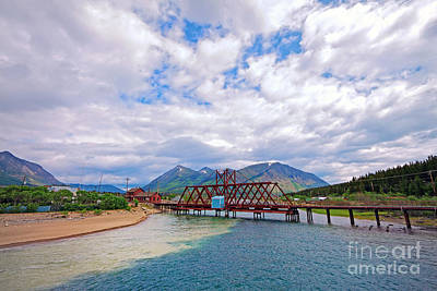 Photograph - Carcross Scenics by Charline Xia