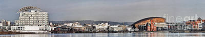 Cardiff Bay Panorama 2 Art Print