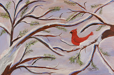 Cardinal Art Print by Margaret Pappas