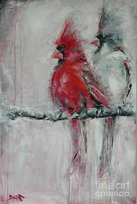 Northern Kentucky Painting - Cardinals Rule by Dan Campbell