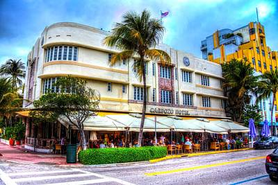 Photograph - Cardozo Hotel by Mark Andrew Thomas