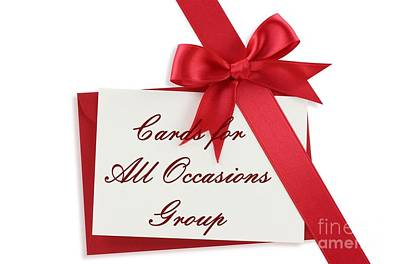 Digital Art - Cards For All Occasions Logo 2 by JH Designs
