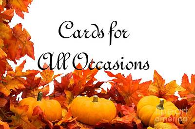 Digital Art - Cards For All Occasions Logo by JH Designs