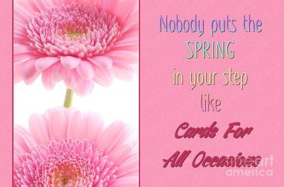 Digital Art - Cards For All Occasions Spring by JH Designs