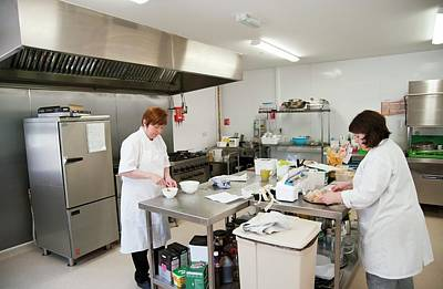 Retirement Home Photograph - Care Home Kitchen by John Cole