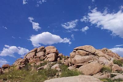 Photograph - Carefree Rocks I by R B Harper