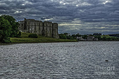 Photograph - Carew Castle Pembrokeshire by Steve Purnell