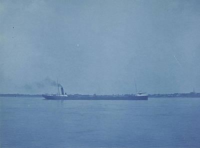 Cargo, Port Huron, Michigan, United States Art Print by Artokoloro