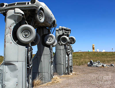 Photograph - Carhenge - 01 by Gregory Dyer
