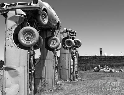 Photograph - Carhenge - 02 by Gregory Dyer