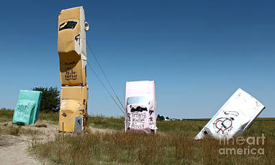 Photograph - Carhenge - 06 by Gregory Dyer