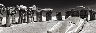 Painting - Carhenge - 13 by Gregory Dyer