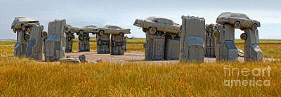 Painting - Carhenge - 14 by Gregory Dyer