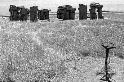 Painting - Carhenge - 15 by Gregory Dyer