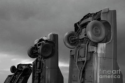 Photograph - Carhenge 2 by Bob Christopher
