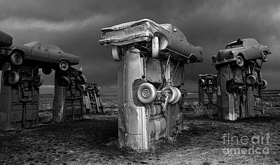 Photograph - Carhenge 3 by Bob Christopher