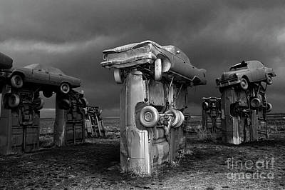 Photograph - Carhenge 5 by Bob Christopher