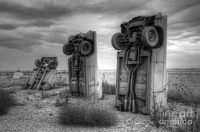 Photograph - Carhenge Automobile Art 3 by Bob Christopher