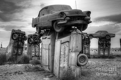 Photograph - Carhenge Automobile Art 4 by Bob Christopher
