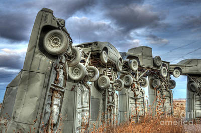 Photograph - Carhenge Automobile Art by Bob Christopher