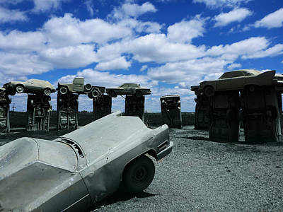 Fernley Photograph - Carhenge by Chad Rice