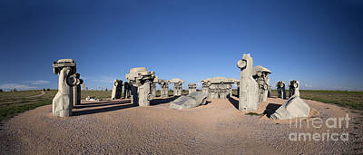 Photograph - Carhenge Panorama by Art Whitton