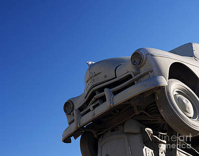 Photograph - Carhenge Plymouth by Art Whitton