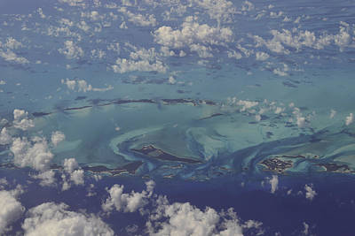 Photograph - Caribbean Aerial 3 by Bonnie Leigh Delar