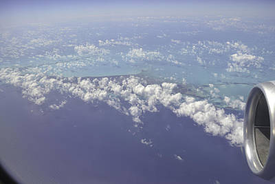 Photograph - Caribbean Aerial 5 by Bonnie Leigh Delar