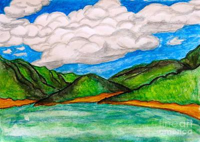 Painting - Caribbean by Anita Lewis
