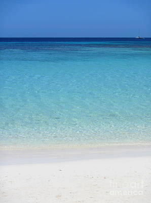Photograph - Caribbean Blues by Peggy Hughes