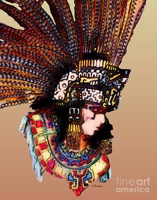 Caribbean Colors Print by Linda  Parker