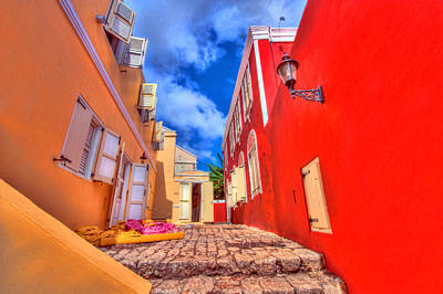 Photograph - Caribbean Colors by Nadia Sanowar