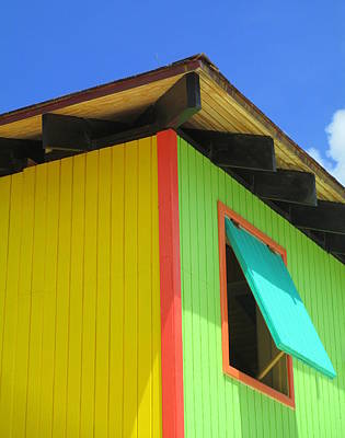 Cabin Corner Photograph - Caribbean Corner 2 by Randall Weidner