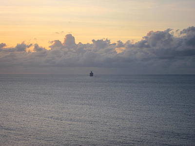 Board Photograph - Caribbean Cruise - On Board Ship - 1212146 by DC Photographer