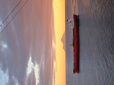 Caribbean Cruise - On Board Ship - 1212189 Print by DC Photographer
