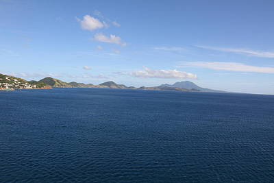 Ship Photograph - Caribbean Cruise - St Kitts - 1212101 by DC Photographer