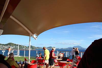 Caribbean Cruise - St Kitts - 121284 Art Print by DC Photographer