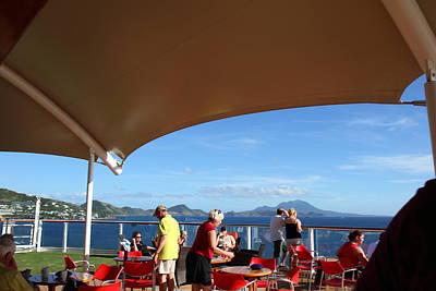 Caribbean Cruise - St Kitts - 121286 Art Print