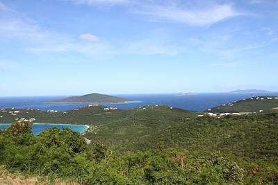 Caribbean Cruise - St Thomas - 1212236 Print by DC Photographer