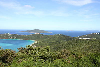 Caribbean Cruise - St Thomas - 1212240 Art Print by DC Photographer