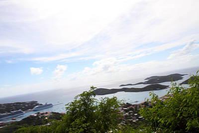 Thomas Photograph - Caribbean Cruise - St Thomas - 1212251 by DC Photographer