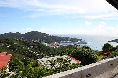 Caribbean Cruise - St Thomas - 1212258 Art Print