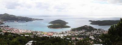 Caribbean Cruise - St Thomas - 12124 Art Print by DC Photographer
