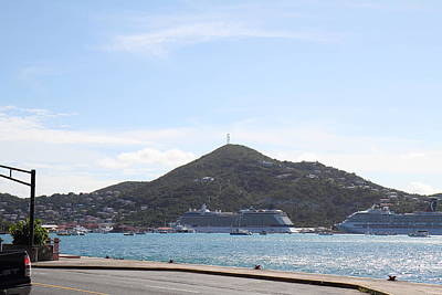 Thomas Photograph - Caribbean Cruise - St Thomas - 121247 by DC Photographer