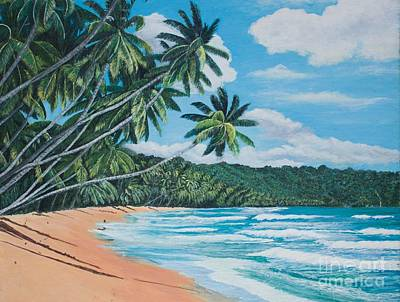 Painting - Caribbean Jewel -1 by Joy Ballack