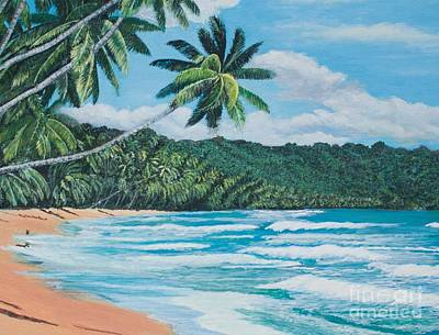 Painting - Caribbean Jewel -3 by Joy Ballack