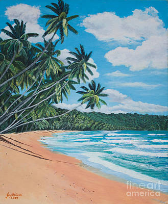 Painting - Caribbean Jewel by Joy Ballack