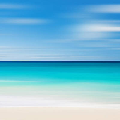 Color Block Photograph - Caribbean Mood by Katherine Gendreau